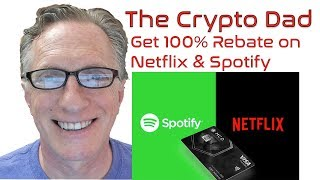 Get 100% Rebate on Netflix and Spotify Using the MCO VISA Card from Crypto.com