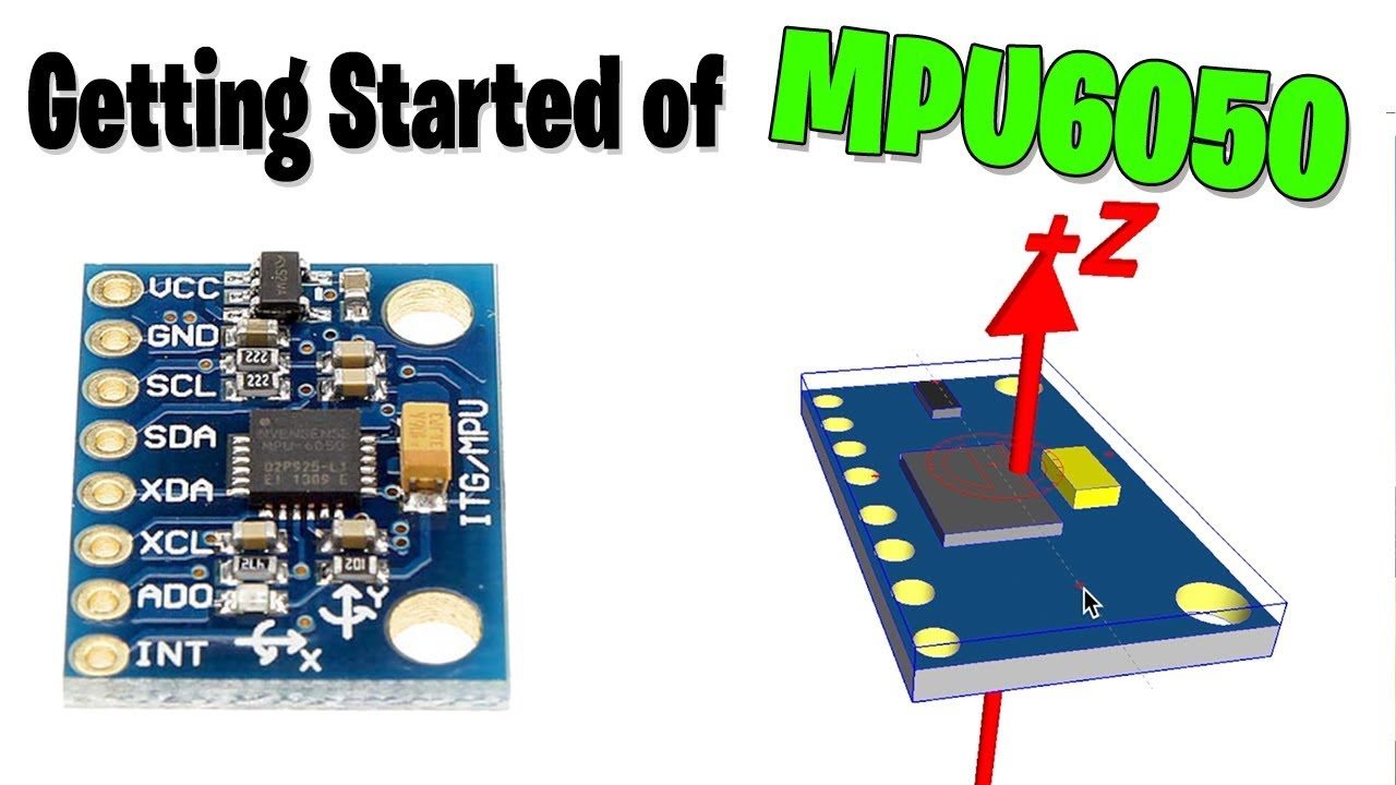 ICStation - Getting Started of MPU6050/GY-521 with Arduino tutorial