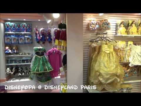 Disneyland Paris World of Toys Shop walkthrough DisneyOpa Disney Village