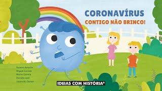 Livro «Coronavírus, contigo não brinco!» – Apresentação