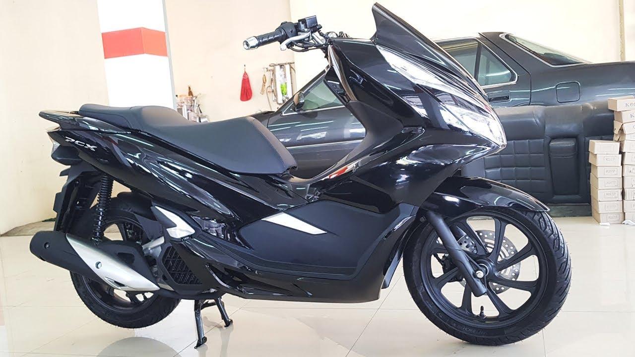 2018 New Honda Pcx 150 Black Youtube