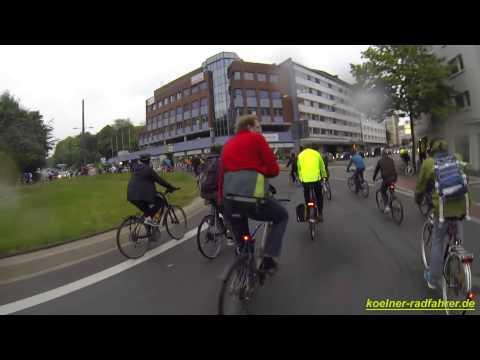 Critical Mass - Wupppertal - MAI - 2014