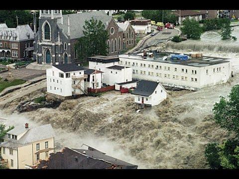 Déluge du  Saguenay 1996(TVA)