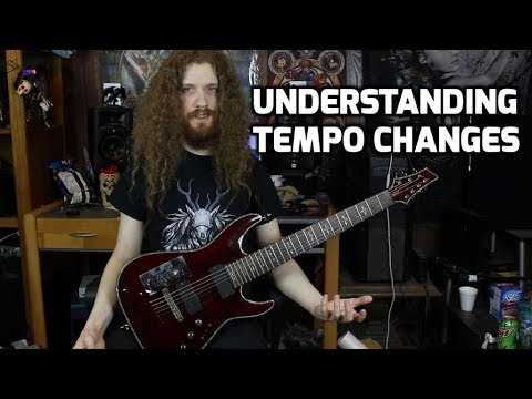 How to Write Tempo Changes In Music