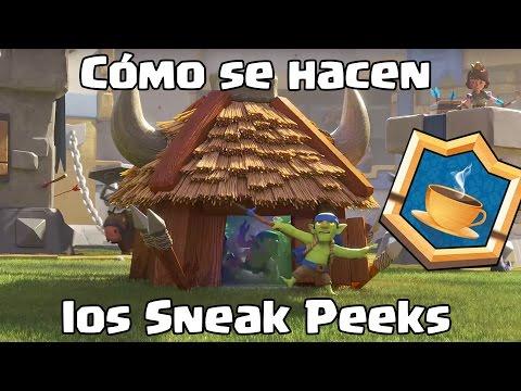 ¿Cómo se hacen los Sneak Peeks? | Desayuno Royale | Clash Royale con TheAlvaro845 | Español