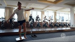 DFB-Frauen: Stabi-Training