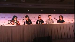 Anime Expo 2014 Day 1: NitroPlus Panel w/ Gen Urobuchi, Takaki Kosaka, and Takanori Aki