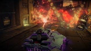 Saints Row 4 - Tank Mayhem - Hover Tank - Destructor - Ultra Settings