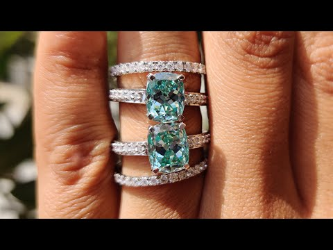 cushion-divine-cyan-blue-moissanite-pave-engagement-ring-with-half-eternity-wedding-band