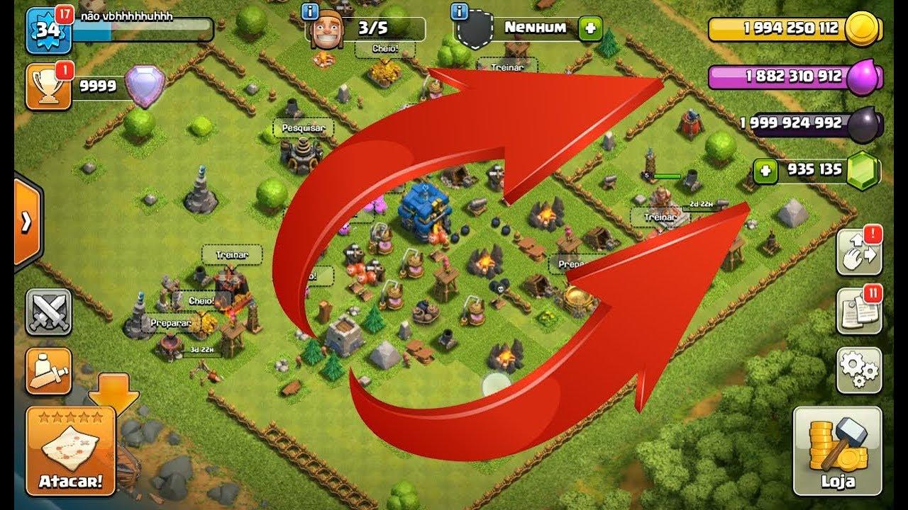 hack clash of clans gemas infinitas android