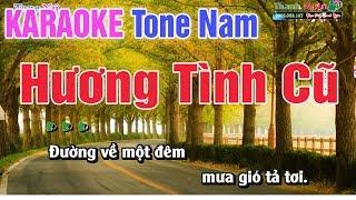 Hương Tình Cũ Karaoke Tone Nam 8795 - Nhạc Sống Thanh Ngân