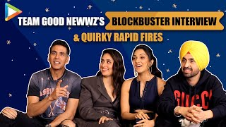 Team Good Newwz's Most Entertaining Interview | Crazy Quiz,Rapid Fire |Akshay,Kiara,Kareena,Diljeet