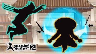 ЧТО ЭТО ЗА МАГИЯ? Победил ОТШЕЛЬНИКА! Мультик для детей про бои с тенью Игра Shadow Fight 2