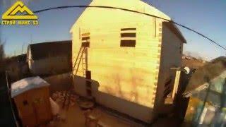 Строительство дома из бруса под усадку в Шимском районе(Наш сайт: http://stroy-maks53.ru/ Проекты домов: http://stroy-maks53.ru/doma_menshe100m.html Каталог проектов: ..., 2016-05-09T01:50:16.000Z)
