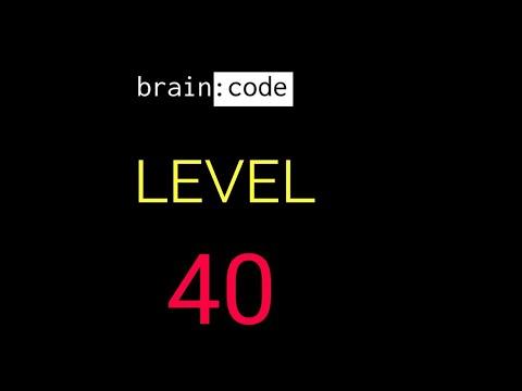 Brain code level 40 solution or walkthrough