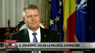 Interviu în exclusivitate: Klaus Iohannis, după un an de mandat