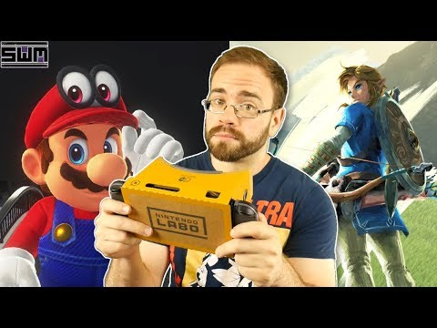 My Honest Thoughts On Zelda And Mario VR For Nintendo Switch