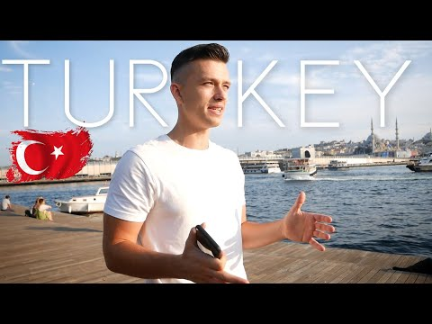 Turkey is INSANE - First Impression of ISTANBUL (Never been here before...)