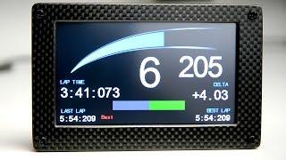 digital dash display sim racing diy