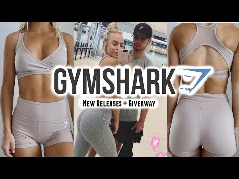 New Gymshark Releases + GIVEAWAY!!