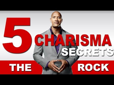5 Secrets To Be More Charismatic - The Rock Confidence Breakdown