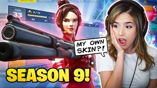 Download Pokimane Reacts to NEW Fortnite Season 9 + Battle Pass! Mp3 and Videos