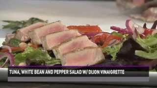 Healthy Cooking With Chef Mark Mckinney- Seared Tuna And White Bean Salad