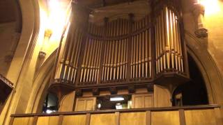 Swansea Organ Association  All Saints Church Oystermouth  Rondeau From Abdelazar Purcell