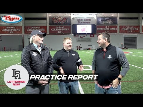 Practice Report: Ohio State Big Ten title preview, Justin Fields health, award snubs