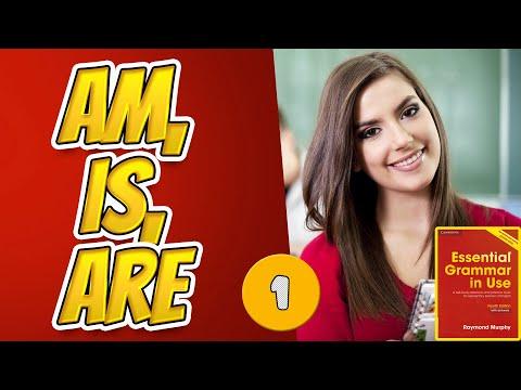 #1  Тренажёр по учебнику Мёрфи красный. Am, is, are. Начальный уровень