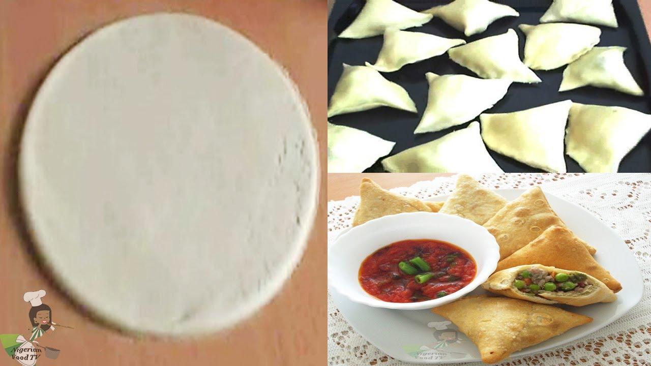 Homemade samosa wrappers samosa dough youtube forumfinder Gallery