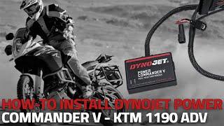Installing A Powercommander V On A Ktm 1190 Adventure