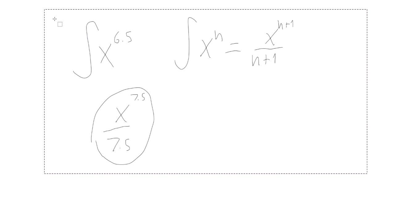 HTX B: Integralregning 3: Flere dejlige eksempler.