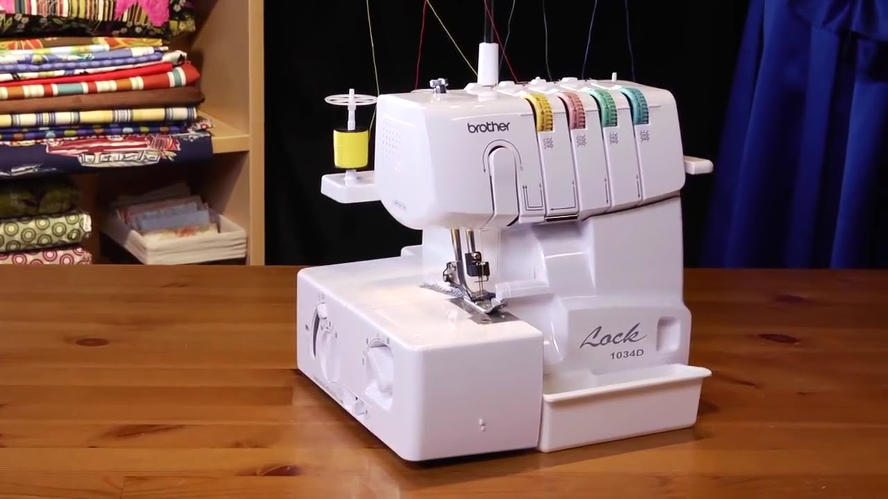 Brother? 1034D Serger Overview - YouTube