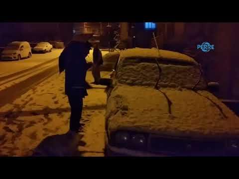 Çelikhan'da Çocukların Kar Keyfi