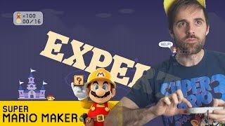 Mario Maker NO-SKIP 100 Mario Expert Challenge COMPLETE - Current Streak: 4