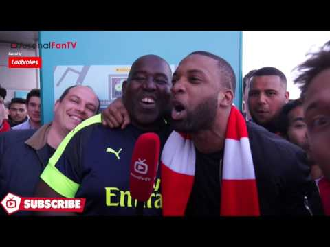Arsenal 2 Man City 1 - Fans Go Crazy - Are You Watching Tottenham!!
