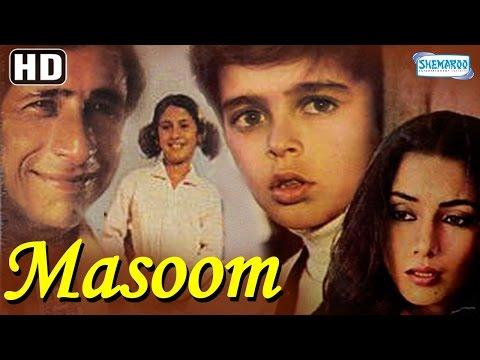 Masoom {HD} Naseeruddin Shah  Shabana Azmi  Urmila Matdkar  80s Hit  With Eng Subtitles