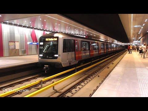 New Metro Line 52 Noord Zuidlijn Amsterdam GVB R-NET in service #NoordZuidlijn
