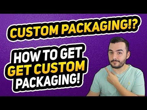 Amazon FBA Custom Packaging Tutorial! How To Get Custom Packaging!
