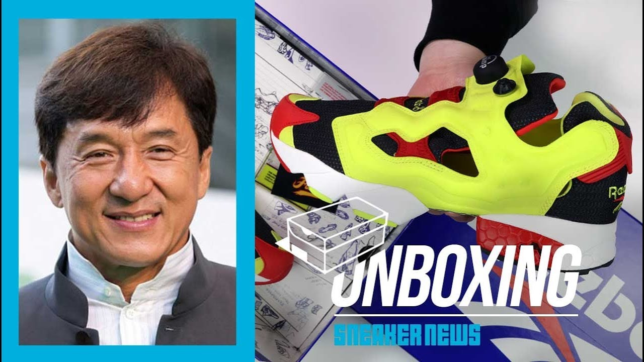 newest 32ccb ab576 How Jackie Chan Made The Reebok Instapump Cool