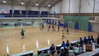 6日 ハンドボール女子 福島商業高校1コート 小松市立vs山陽 2回戦