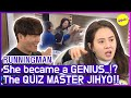 [HOT CLIPS] [RUNNINGMAN] JIHYO, The Quiz MASTER😎😎 (ENG SUB)