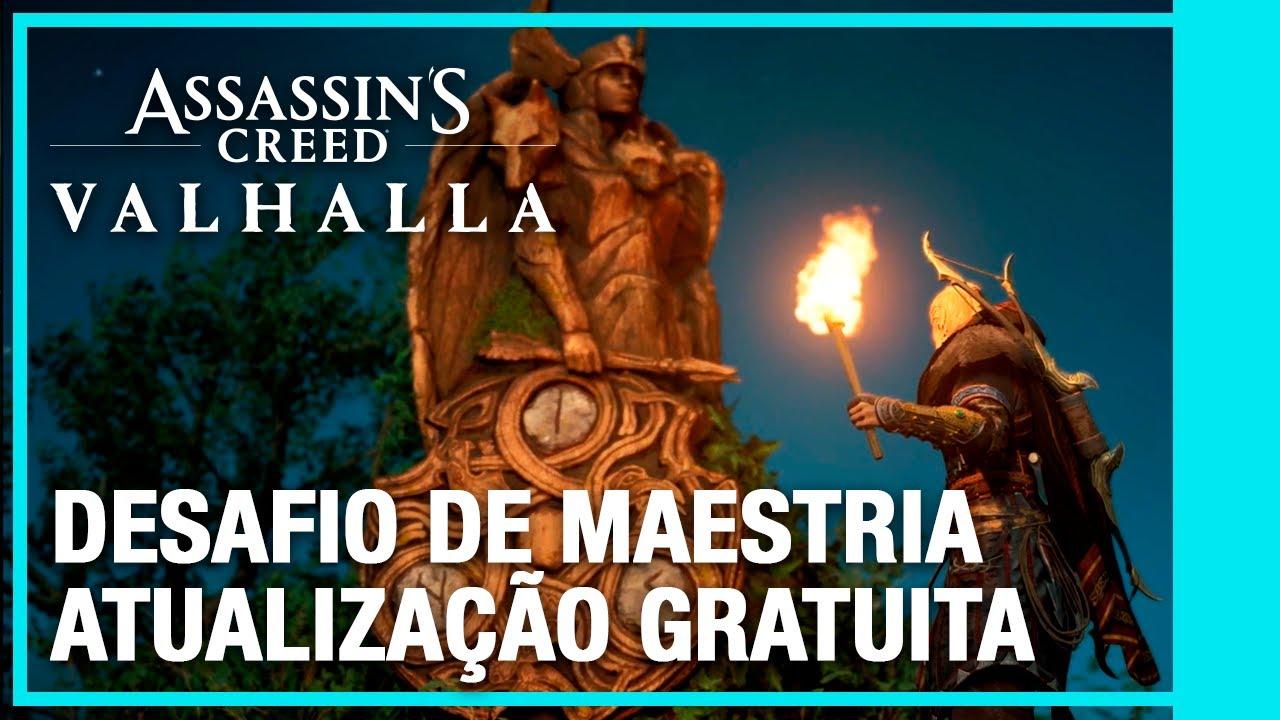 Assassin's Creed Valhalla: Atualização Gratuita do Mastery Challenge | Ubisoft