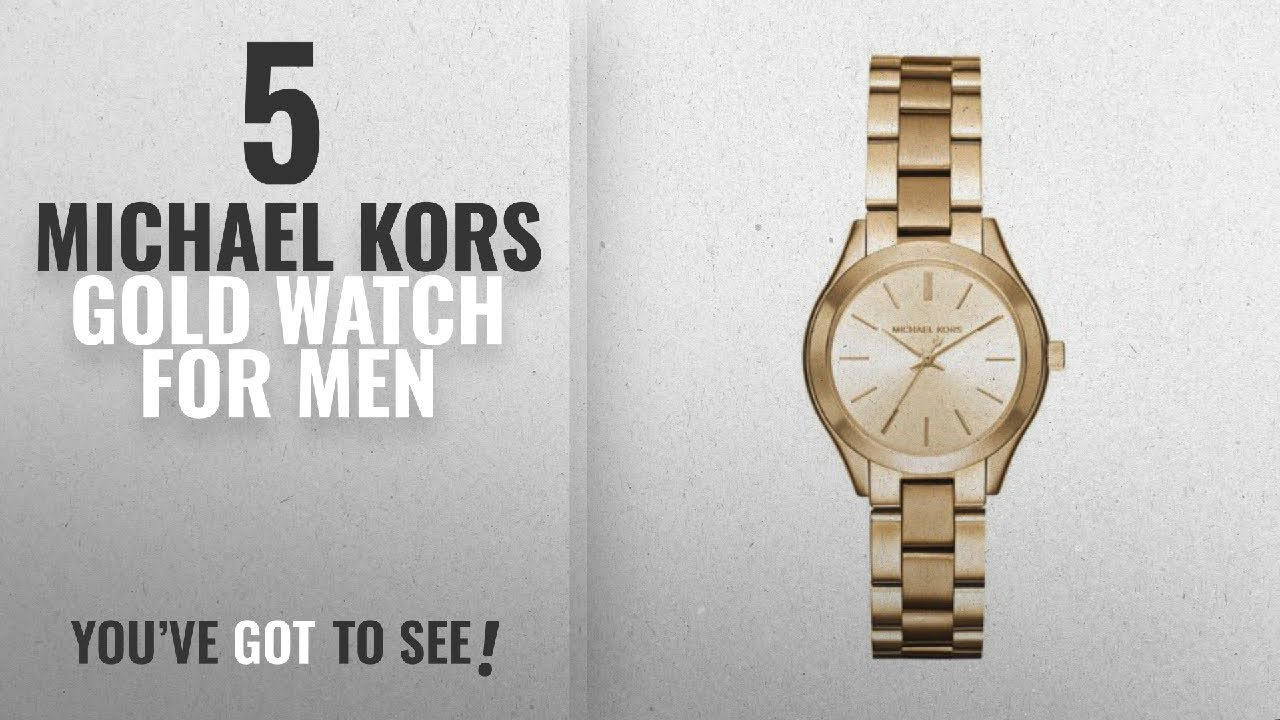 40be539850fb Top 10 Michael Kors Gold Watch  2018