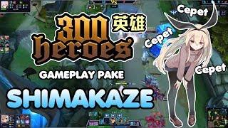 300 Heroes MOBA Anime ! Gameplay pake Destroyer Shimakaze Kantai Collection !
