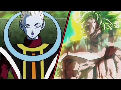 VIDEO: WHIS VS BROLY FIGHT in Dragon Ball Super BROLY!?