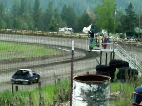 Eagle Track Raceway Dan Stillings Time In June 1st 2014