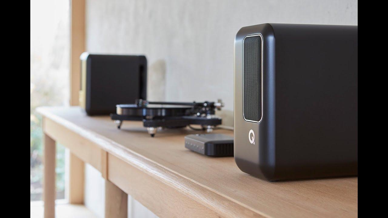 Q Acoustics : Introducing Q Active Speakers - YouTube