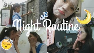 MY SCHOOL NIGHT ROUTINE 2017! | CELINE CHIA